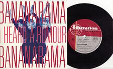 BANANARAMA - I HEARD A RUMOUR Very rare 1987 Aussie POP P/S Single Release! M-