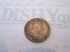 1910 SILVER 5 CENTS! Vintage CANADA coin: EDWARD VII reeded edge    IS94