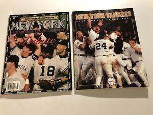 1996 Sports Illustrated NEW YORK YANKEES World Series Set ALCS Commemorative
