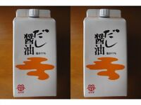 soy sauce dashi New Set Sushi Japanese From Japan 2 Bottle dashi 500ml 2 set