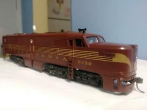 Athearn HO PA-1 PRR #5750 with can motor installed, used, Very Good, No Box