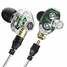 Corded In-ear Headphones Earbuds Heavy Bass Noise Cancelling Earphones with Mic
