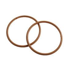 Craftfactory leggero legno Round COPPIA 13cm Sew BAG MANIGLIE