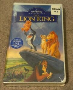 Walt Disney THE LION KING VHS First Time On Video New Sealed Original Wrap 2977