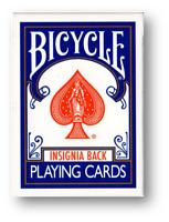 Bicycle Insignia Back (Azul) Jugando a las Cartas Póquer Juego de Cardistry