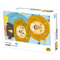 Funny Mini Puzzle Adult 1000 Piece Cute Lion Jigsaw Decompression Game Toy Gift