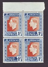 SOUTH AFRICA 1937 CORONATION KING GEORGE 6TH VARIETY