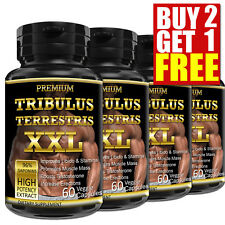60 Capsules TRIBULUS TERRESTRIS 96% Saponins Boost Testosterone Big Muscle
