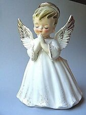 Vintage Lefton Angel Boy Planter 1714