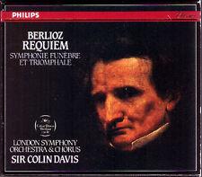 COLIN DAVIS: Berlioz Requiem & Symphonie funèbre et triomphale 2cd Ronald Dowd