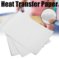 10Pcs A4 White Heat Transfer Paper for Ink Printer Puzzle T-shirt Accessory