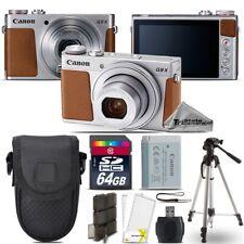 """Canon PowerShot G9 X Mark II Digital DIGIC 7 WiFi Camera + 50"""" Tripod - 64GB Kit"""