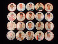 Lot of 20 Different 1962 Salada Coins - EX-MT