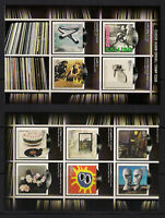 GB 2010 sg3009-18 Classic Album Covers 2nd issue ordinary gum set of 2 panes MNH