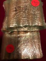 1962-P Pennies Rolls Uncirculated Red Coins 10 Rolls