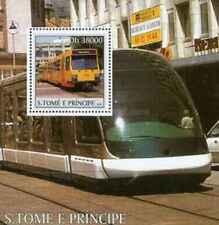 Timbre Trains Tramways St Thomas BF259 ** de 2003 lot 24586 - cote : 15 €