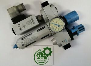 FESTO Lfr-D-Mini Frm He-D-Mini PEV-1/4-B-OD Maintenance - Worldwide Shipping