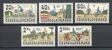 33302) CZECHOSLOVAKIA 1979 MNH** Bicycles 5v