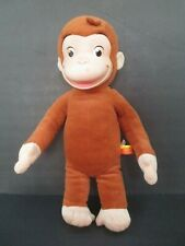 Curious George Monkey Plush Stuffed Doll Rubber Face 2005 Marvel Toys 9245