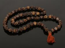 Religious Japa Mala Skull 8 mm Rosary Beads Prayer Yoga Hand Meditation