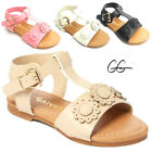 Baby Infant Toddler Girls Flat Sandals 2-6 NEW Clearance