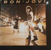 """JON BON JOVI,DAVID BRYAN,RICHIE SAMBORA,ALEC JOHN SUCH orig.sig. – LP """"BON JOVI"""""""