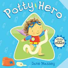 POTTY HERO - POTTY TRAINING BOARD BOOK WITH REWARD STICKERS