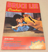 BRUCE LEE COMBATS DYNAMIC 1978 MAGAZINE BOOKLET MARTIAL ARTS LEGENDARY FIGHTER