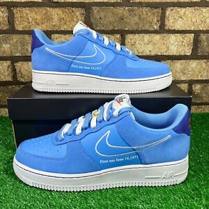 ❄️Nike Air Force 1 (DB3597-400) 'First Use' University Blue/White Suede AF1's❄️