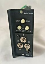 Bogen Communications Inc, Mp-S / Mps Microphone Input Module Pre-Owned