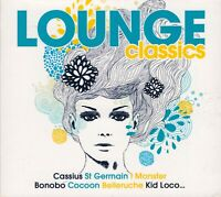 Lounge Classics by Various Artists (3 CD Wagram 3728822 French Import, Like New)