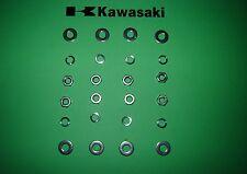 Kawasaki Z650 Z 650 B C D Escape Header Tuerca Kit Ss Inoxidable * Uk FREEPOST *