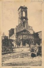 AK, Foto, Langwy - zerstörte Kirche, 1916; 5026-95