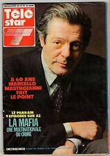 ►TELE STAR 390/1984 - MARCELLO MASTROIANNI - YUL BRYNNER - HERVE VILARD - MAFIA