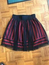 D-Signed Red & Black Skirt Size XL