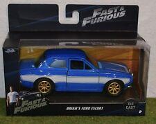 Die-Cast Jada échelle 1/32 Fast Furious 7 BRIAN'S FORD ESCORT RS2000 MK1 JA97188