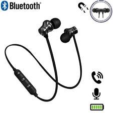 In-Ear Kopfhörer Sport Bluetooth Headset MIC Für HUAWEI Samsung iPhone LG NEU