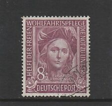 GERMANY - 1949 - REFUGEES RELIEF FUND - 8PF + 2PF - (1V) - FINE USED