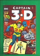 Captain 3-D #1 High Grade Harvey File Copy Kirby Ditko Art Comic 1953 Nm-