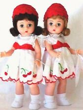 Madame Alexander Cherry Twins Bent Knee Classic Collection Dolls 1999