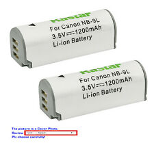 Kastar Replacement Battery for OEM NB9L Canon PowerShot ELPH 510 520 530 SD4500