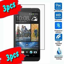 3 HTC M7 Premium HD Tempered Glass Screen Protector