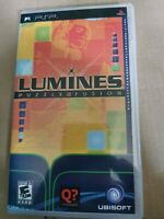 Lumines Puzzle Fusion Sony PSP Playstation Portable Used UMD