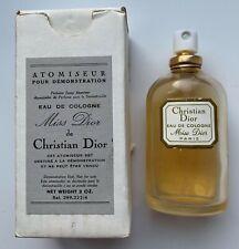 Christian dior miss dior eau de cologne 60 ml 2 fl oz VINTAGE
