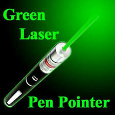 600Miles Green Laser Pointer Pen 532nm Visible Beam Light AAA Lazer Pet Cat Toy