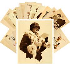 24 Postkarten Set *Retro Woman Portraits Ludwig Hohlwein Retro Art Plakat CC1097