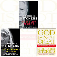 Christopher Hitchens Missionary Position 3 Books Collection Set God Is Not Great
