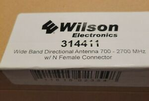 Wilson 314411 50ohm Wide Band Directional Antenna - White, N-female connector