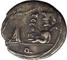 Roman Republic 98BC Jupiter Victory Trophy Ancient Quinarius Silver Coin i52654