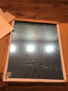 Frameless bathroom mirror 900*750mm